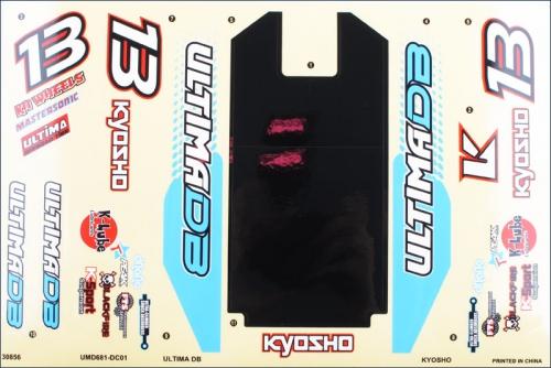 Dekorbogen Ultima DB Kyosho UMD-681