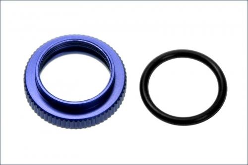 Raendelmutter Alu, blau elxoiert Kyosho VZ-109