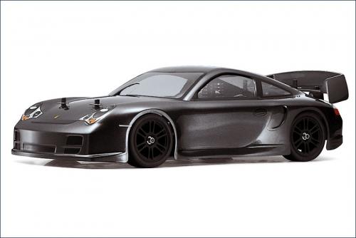 Karosserie 1/10 Porsche, schw., lackiert Kyosho VZB-07GM