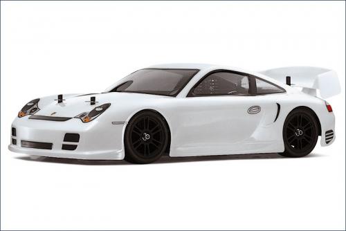 Karosserie 1/10 Porsche, weiss, lackiert Kyosho VZB-07W
