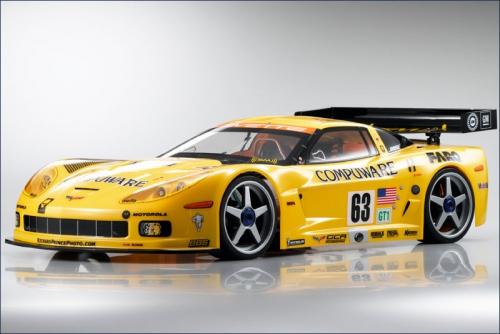 Karosserie 1:10 Chevrolet Corvette C6-R Kyosho VZB-15
