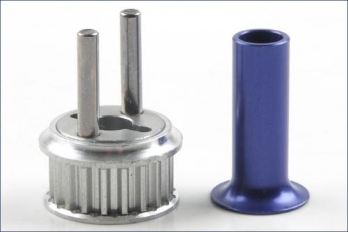 Riemenrad Aluminium Kyosho VZW-28