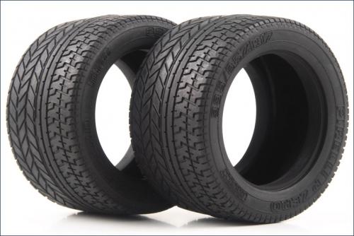 Reifen 1:10,Strasse,mittel,ID54,B45 (2) Kyosho W-5057