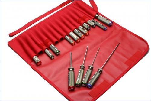 Werkzeugtasche mit Werkzeug kpl. Kyosho YKW-101