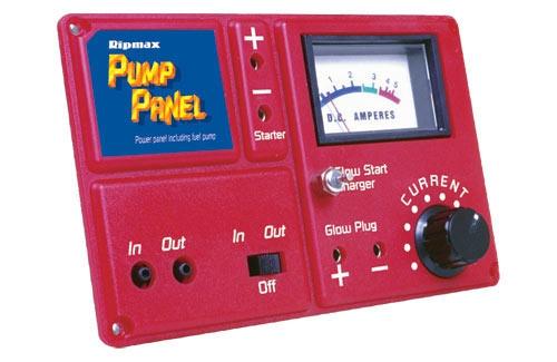 Power Panel + Spritpumpe