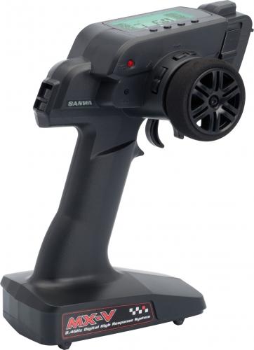 MX-V Pistolen-Fernsteuerung Set (FHSS-2) LRP 101A30872A