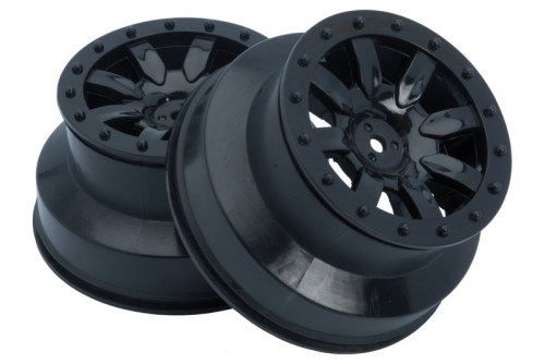 Speichen Felge schwarz (2 Stk.)  S10 SC LRP 122028