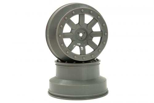 Speichen Felge grau (2 Stk.) S10 SC LRP 122030