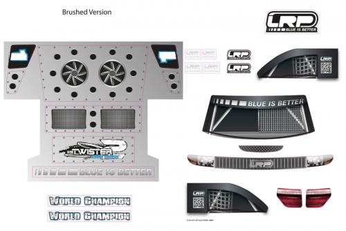 Dekorbogen - S10 Twister SC LRP 124117