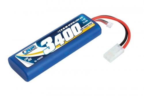 LRP LiPo Power Pack 3400 - 7.4V - 30C LRP 430207