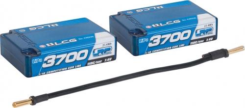 LRP 3700 Saddle Pack LCG LiPo Hardcase LRP 430226