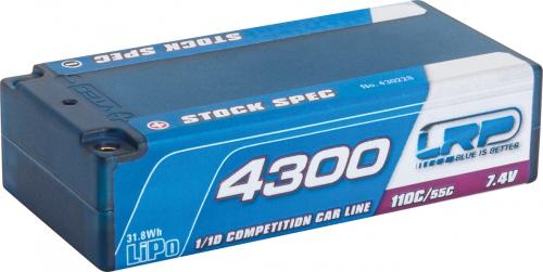 LRP 4300 Shorty Stock Spec LiPo Hardcase LRP 430228