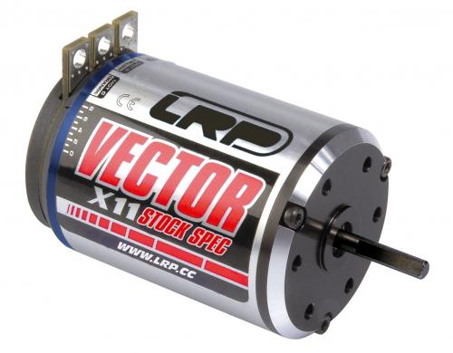 Vector X11 10.5 T Brushless Stock Spec LRP 50830