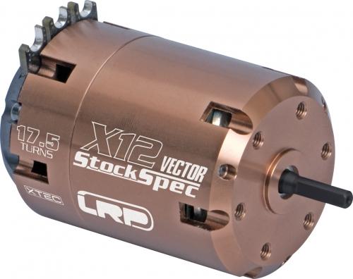 Vector X12 Brushless StockSpec 17.5T LRP 50852
