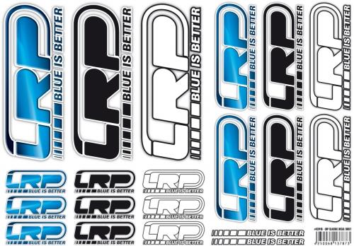 Aufkleberbogen LRP Logo  DIN A4 LRP 62415