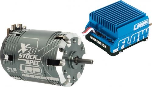 BL Combo Flow Comp. / X20 Stock 21.5T LRP 81113