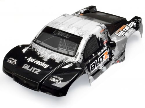 ATTK-10 Karosserie (schwarz/weiss) hpi racing H103418