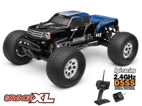 Savage XL 5.9 RTR 2.4GHz Gigante Truck hpi racing H104248