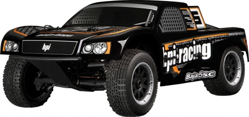 Baja 5SC-1 Truck Karosserie (schwarz) hpi racing H105330