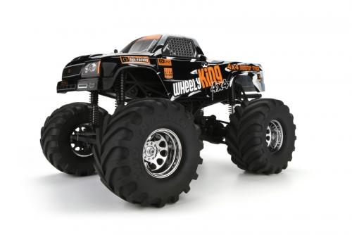 Wheely King 4x4 Truck RTR mit GT-1 Karo hpi racing H106173