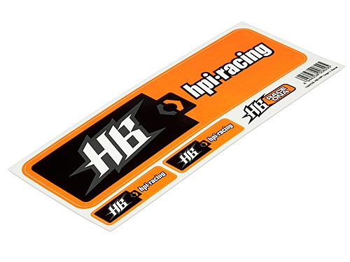 HPI racing LRPH106928 HB/HPI Logo L Decals hpi racing H106928