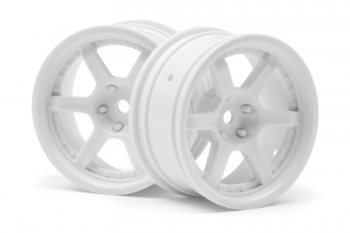 HRE C106 Felge 26mm weiss (6mm Off/2St) hpi racing H112813