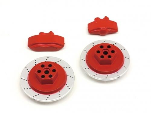 Bremsscheiben/Sattel Set (rot/E10) hpi racing H33450