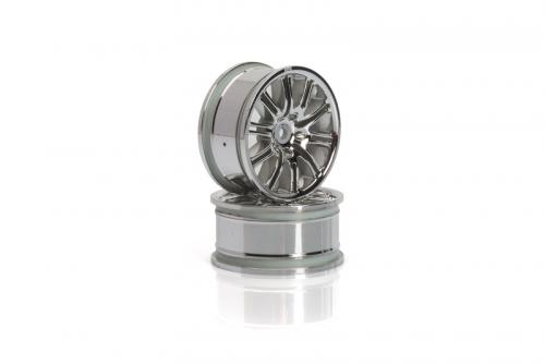 10-Speichen Motorsport Felge 26mm(chrom) hpi racing H3772