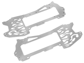 Alu.Chassis Set (7075/silber/E-Zilla) hpi racing HB66332