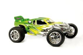 Illuzion - Nitro Rustler - Hi-Speed body LRP J0045