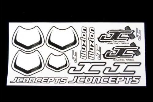 JConcepts Decal Sheet (Illuzion misc.) LRP J2003
