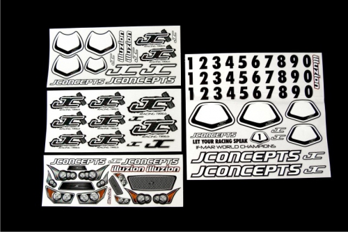 JConcepts Decal Collection (all 4 decal LRP J2011