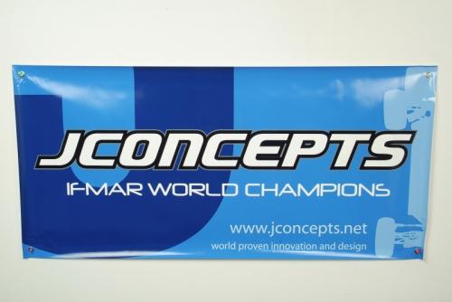 JConcepts Racing Banner ( 2008 Blaze) LRP J2029