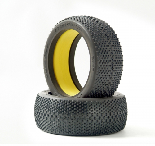 Double Dees - yellow compound (fits 1/8 LRP J3007-00