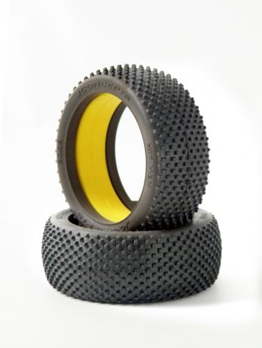 Hit Men - yellow compound (fits 1/8th bu LRP J3009-00