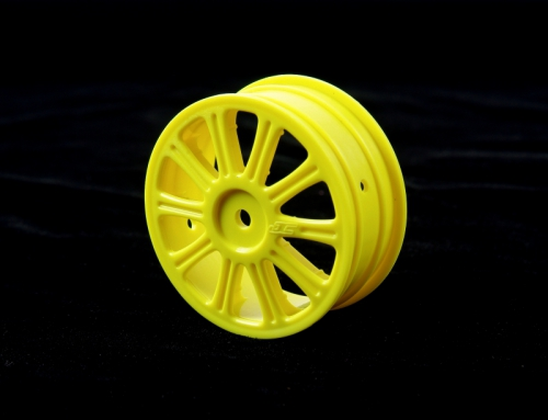 Rulux - 1/10th B44 front wheel (yellow) LRP J3307Y