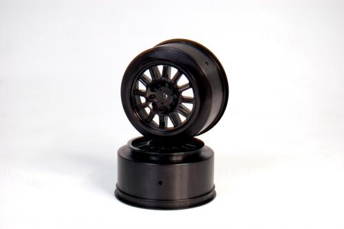Rulux - SC10 Heckfelge schwarz (2St) LRP J3318B