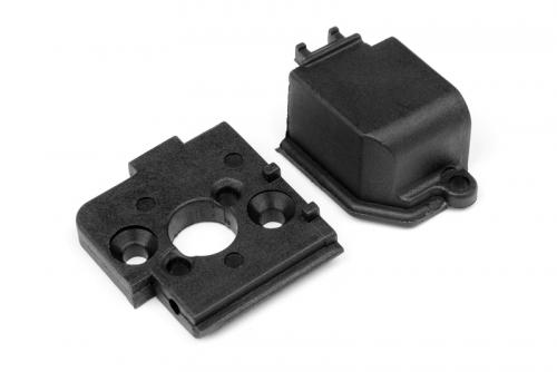 Motorhalterung/Getriebeabdeckung (Ion) LRP MV28010