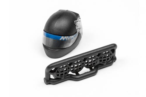 Fahrerkopf und Käfig-Details (Ion DT) LRP MV28077