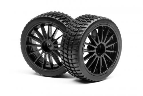 Felgen und Reifen Set (Ion RX) LRP MV28083
