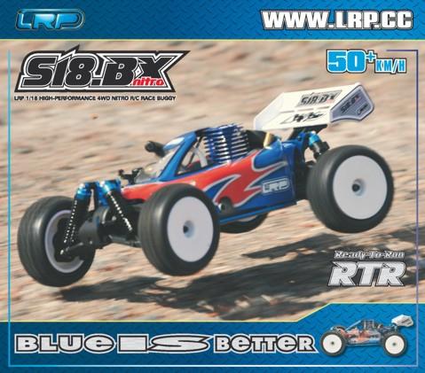 S18 BX Nitro Poster LRP P111300