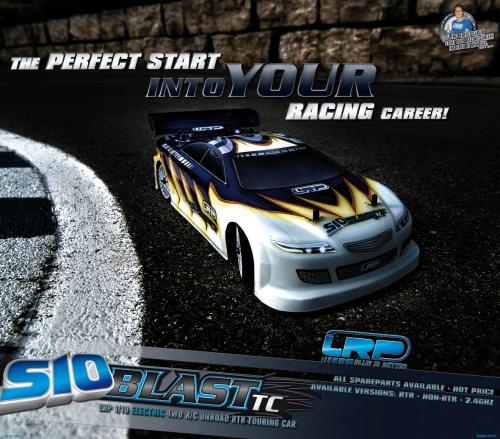 Displayposter S10 Blast TC RTR LRP P120100