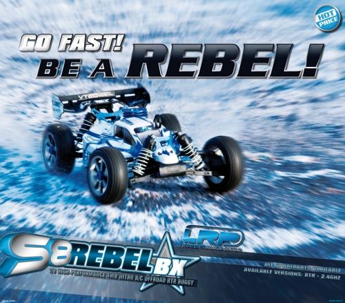 Displayposter S8 Rebel BX LRP P131320