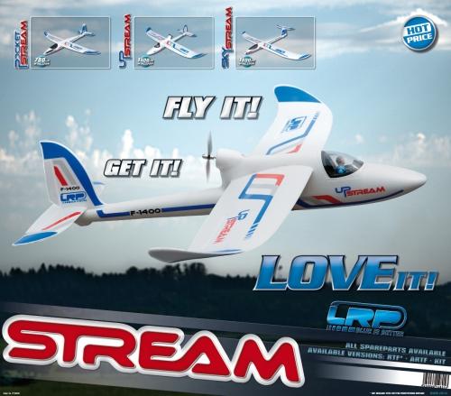 Displayposter LRP Stream Line Airplanes LRP P210500