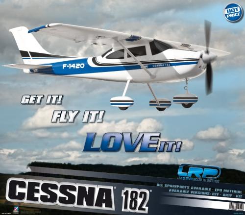 Displayposter LRP F-1420 Cessna©182© LRP P210700