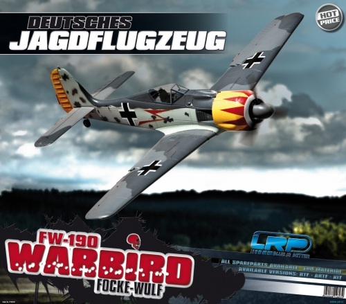 Displayposter LRP F-1400 Focke-Wulf LRP P210702