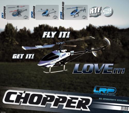 Displayposter LRP Chopper Line LRP P220200