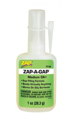 Zap-A-Gap CA+ Sekundenkl. 28.3g (spaltf) LRP PT02