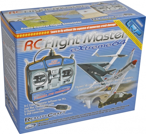 Flightmaster 64X Flugsim.Mo.2 Sender/USB LRP RCSIM46