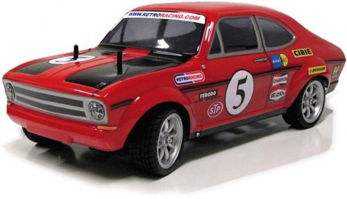 B Coupe Karosserie (klar) LRP RR5009